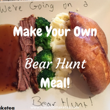 how to make we're going on a bear hunt fun food healthy easy reviews ideas party veggies fussy picky eaters toddlers kids children babies