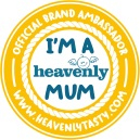 I'M A HEAVENLY MUM - Blogger Badge