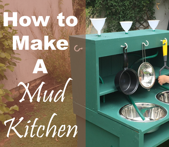 How To Make A Mud Kitchen!