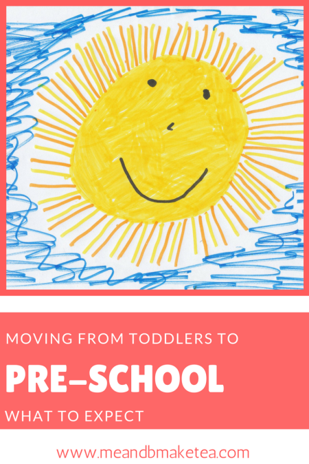 Moving from the toddlers TO