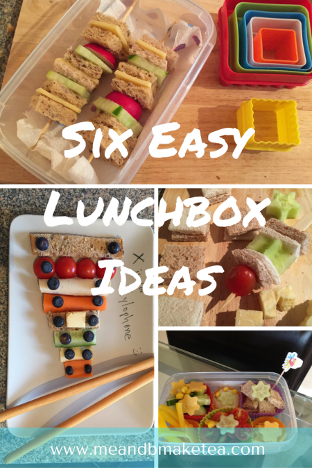 lunchbox ideas for back to school children primary school quick and easy