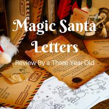 magic santa letters review christmas toddler