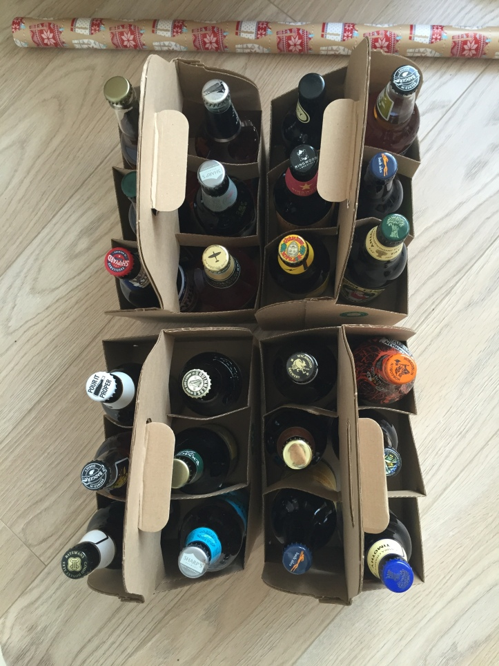 Beer Advent Calendar Diy : The diy beer advent calendar me and b make tea